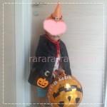 手作り男の子ハロウィン衣装