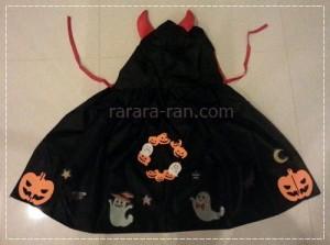 ハロウィン男の子衣装を100均グッズで手作り