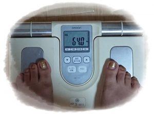 断食ダイエットスタート 体重