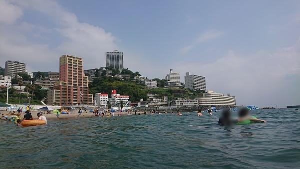 熱海サンビーチに行きました!